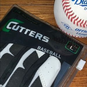 ⚾️Leather🆕⭐️ BASEBALL Batting Gloves